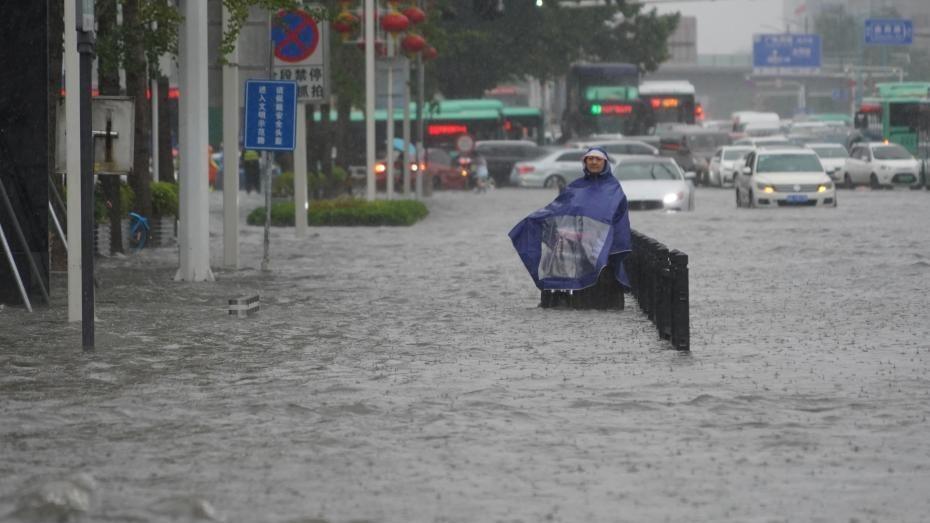 直击河南多地暴雨