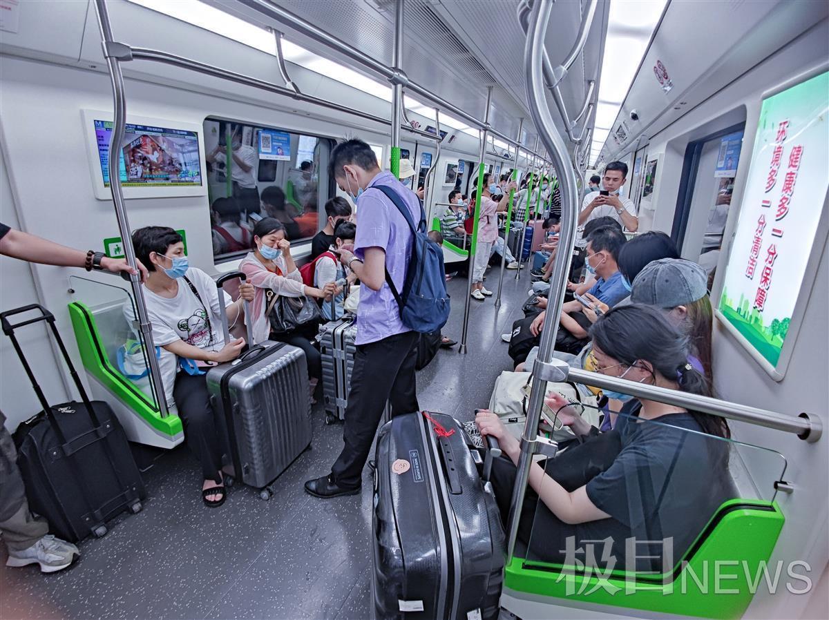 武汉地铁暑运模式ING