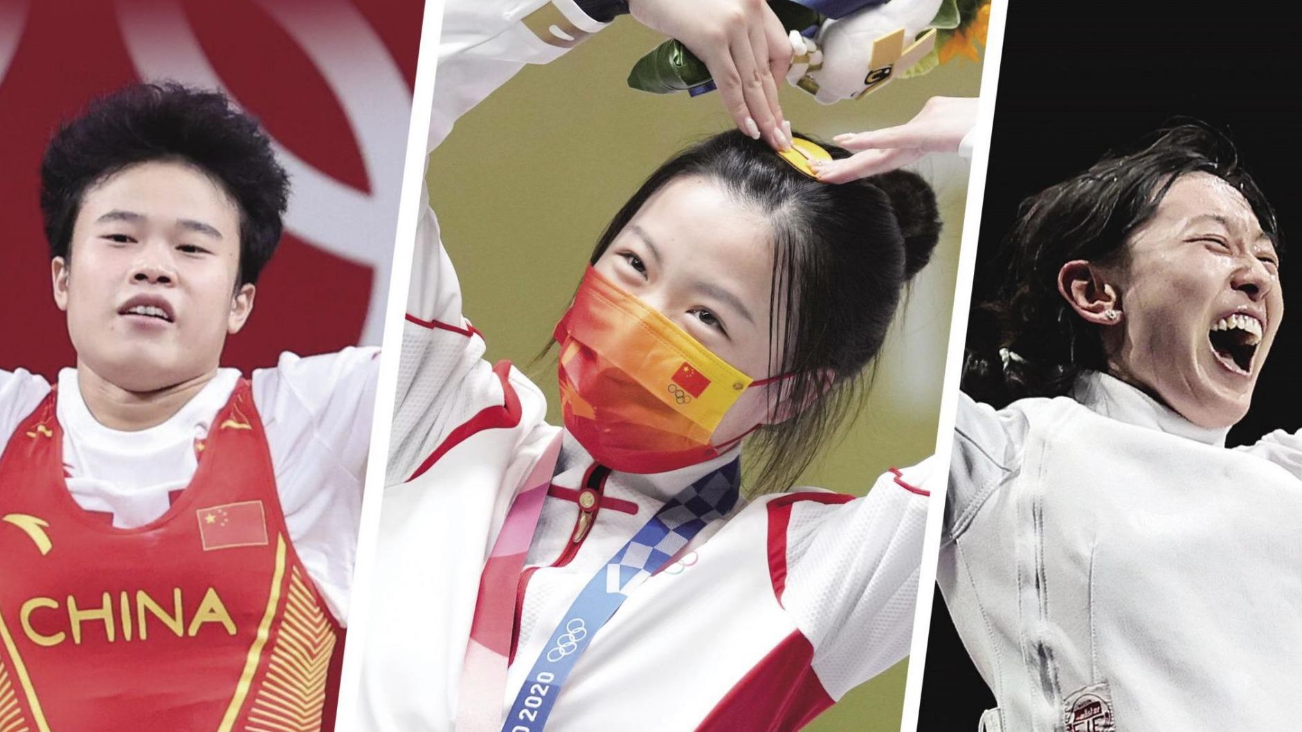 厲害了,中國姑娘!
