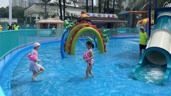 武漢青少年宮水上世界正式開園