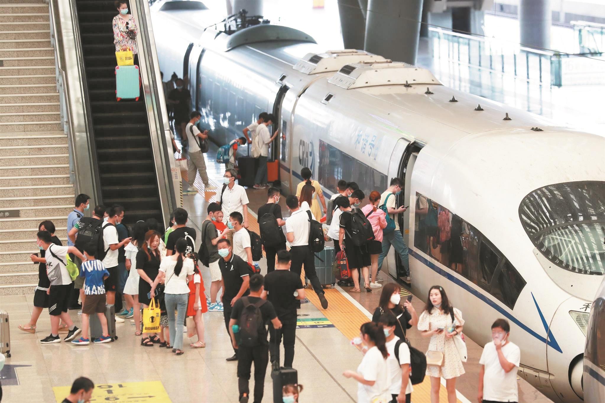 武漢往北京方向高鐵恢復