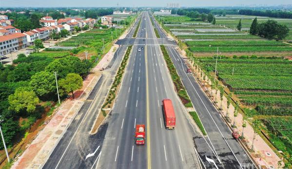 新洲阳大公路通车,武汉东新增一条城市主干道