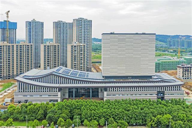省檔案館新館成為湖北又一文化地標