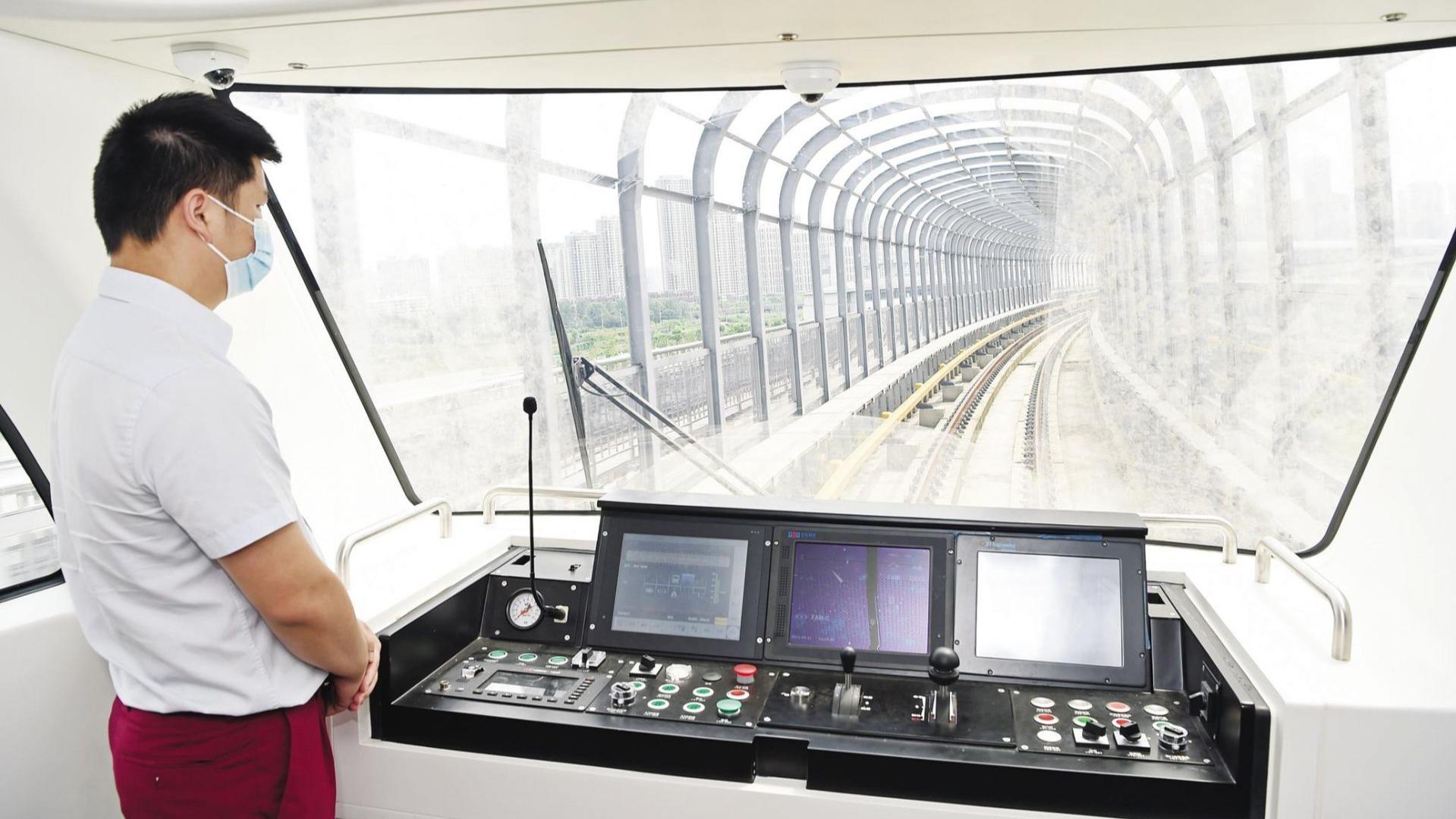 武漢首條全自動運行地鐵線路開始聯調聯試