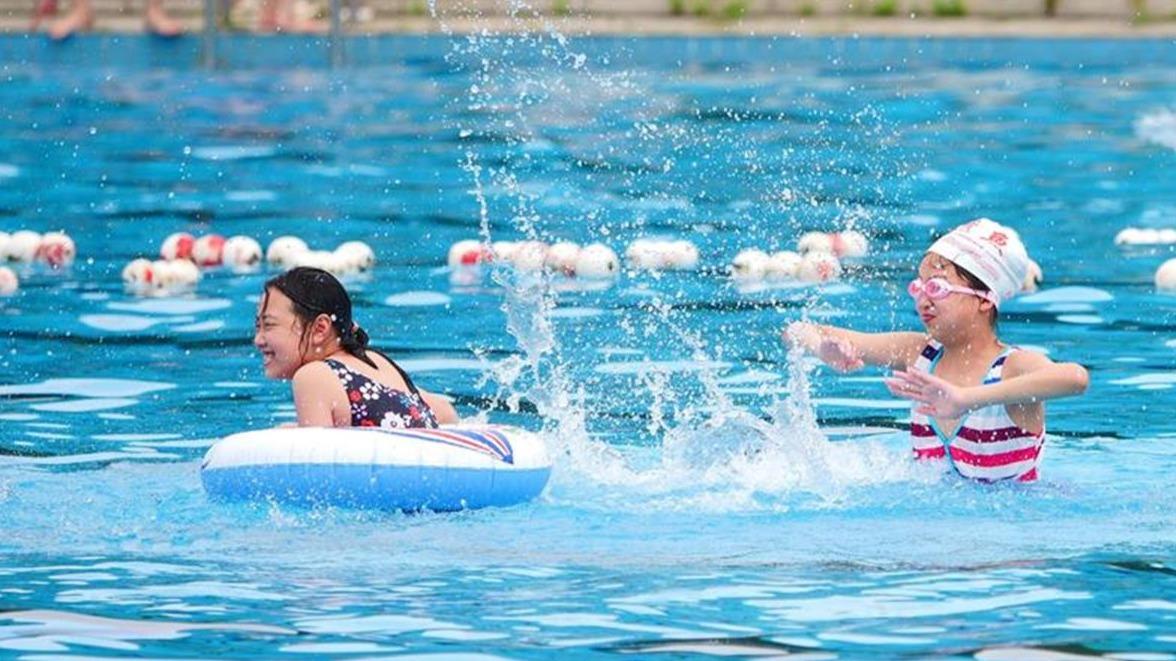 武漢38家游泳場館對中小學生免費開放