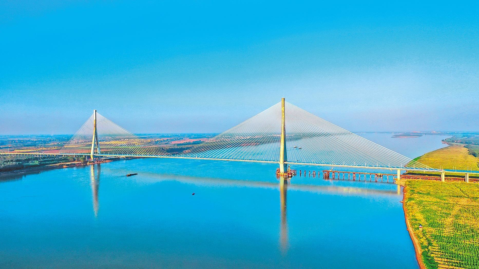 嘉魚長江大橋獲全球道路聯合會杰出工程獎
