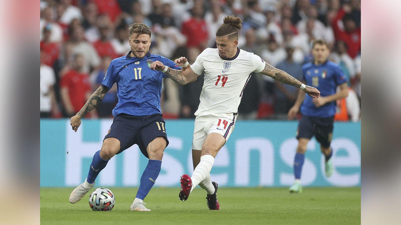 意大利擊敗英格蘭奪歐洲杯冠軍