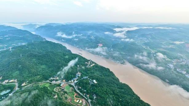 宜昌長江岸線入畫來