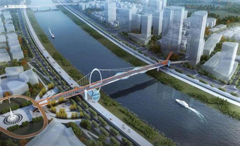 武漢首座跨江慢行橋來了  只能走人和非機動車