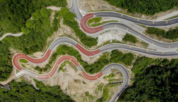 夷陵修筑生态富民路