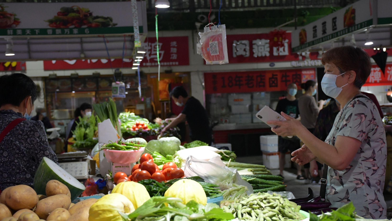 武汉:生鲜市场品种丰富