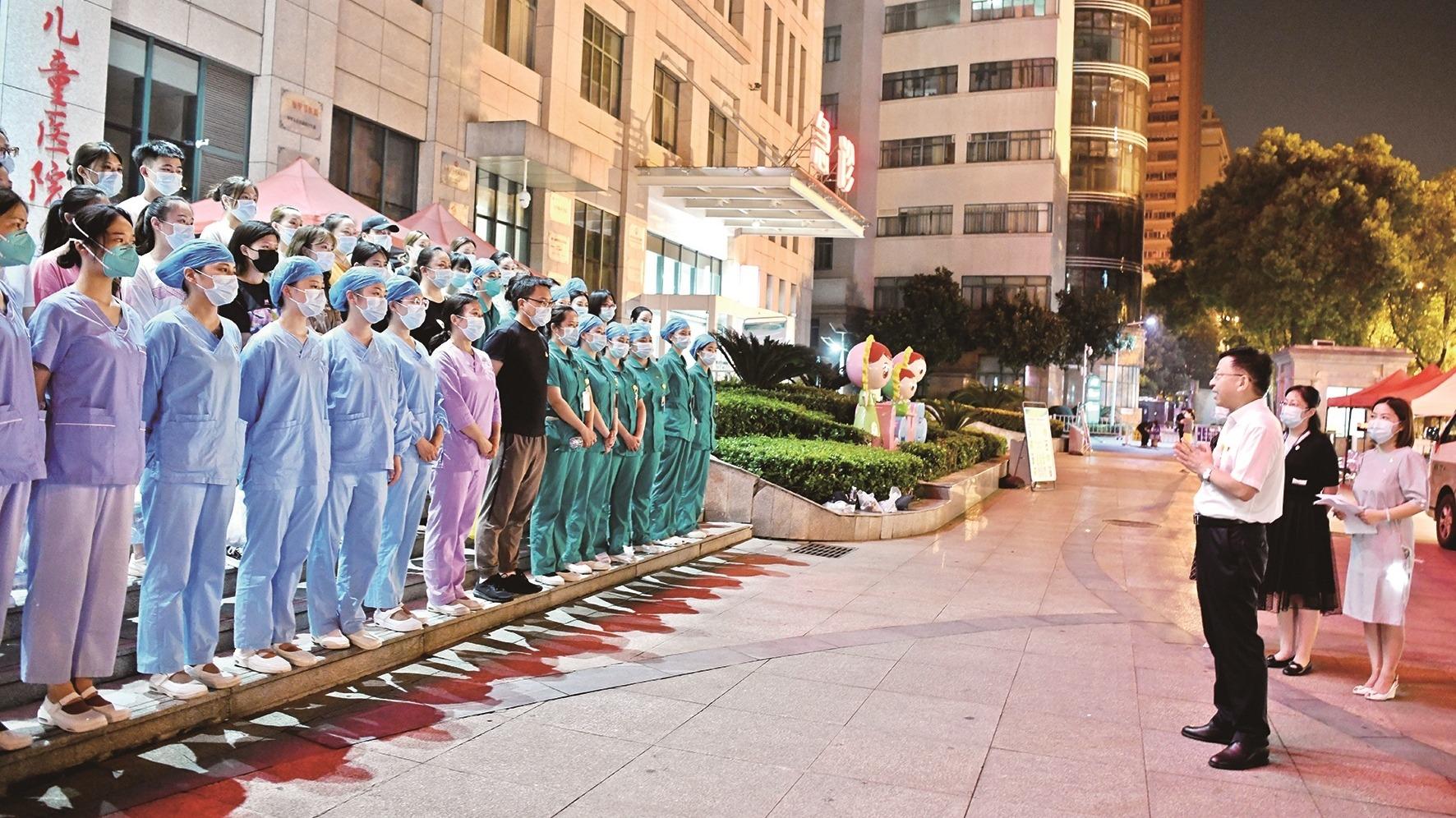 1500余名医护紧急驰援武汉经开区