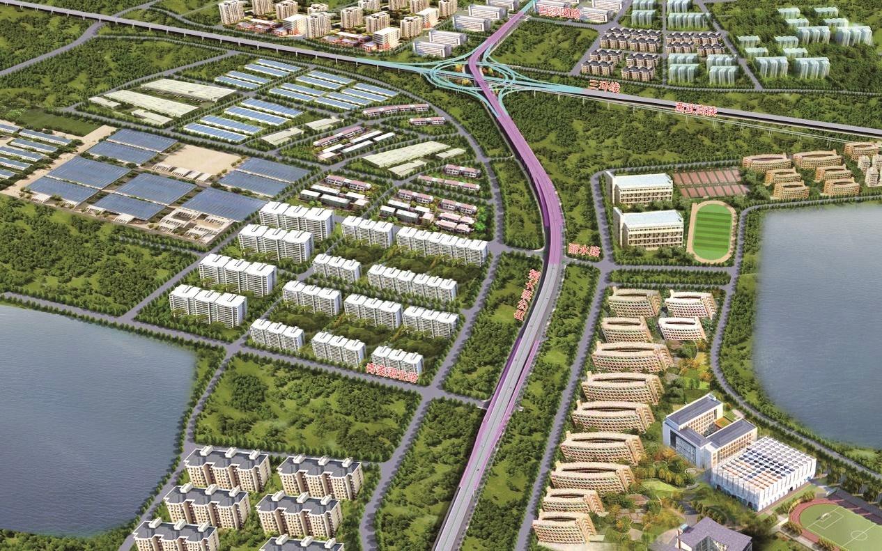 武汉白沙洲大道将全程高架