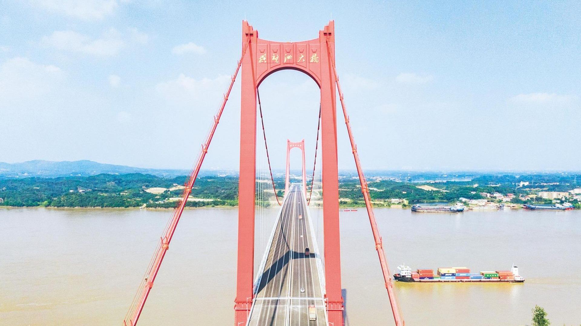 武汉城市圈环线再添过江通道