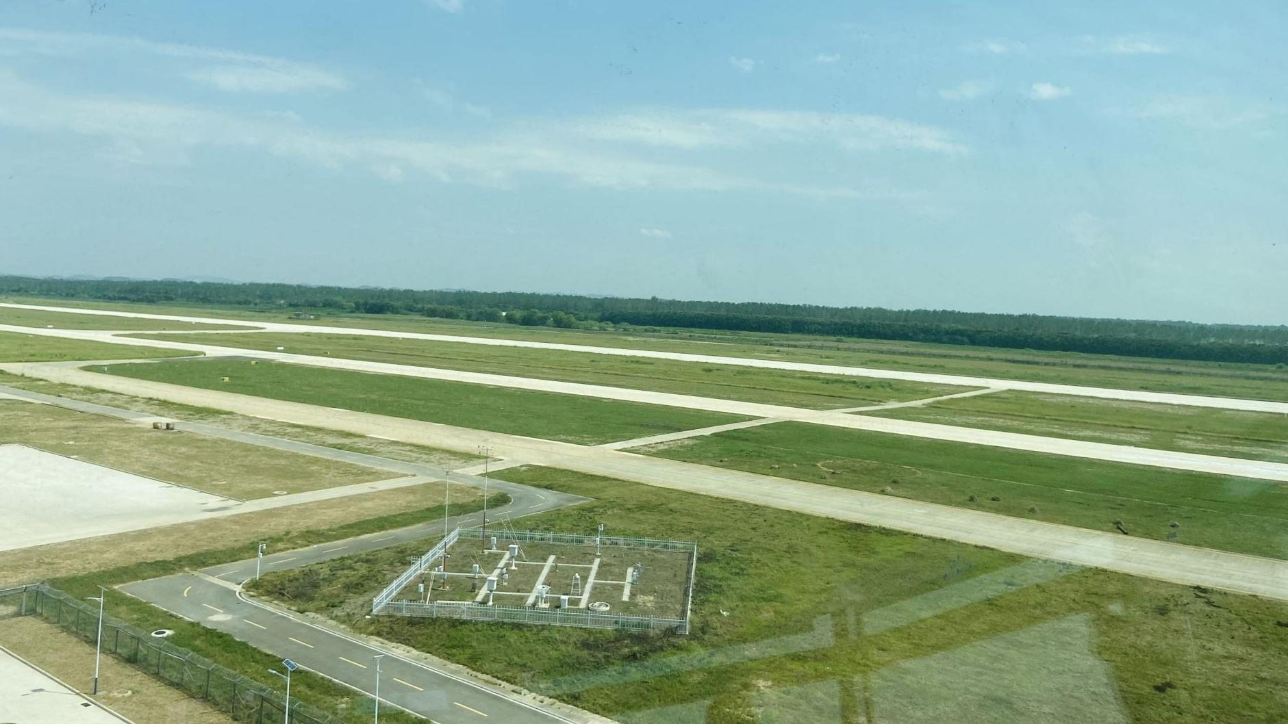 汉南通用机场扩建项目主体基本完工