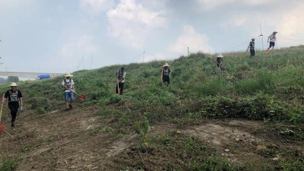 洪峰平稳过境汉江汉川段