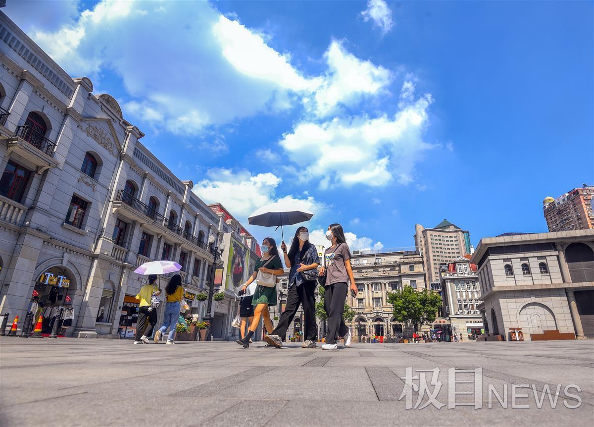 最高温直奔37℃!武汉人遇上火辣辣的秋天