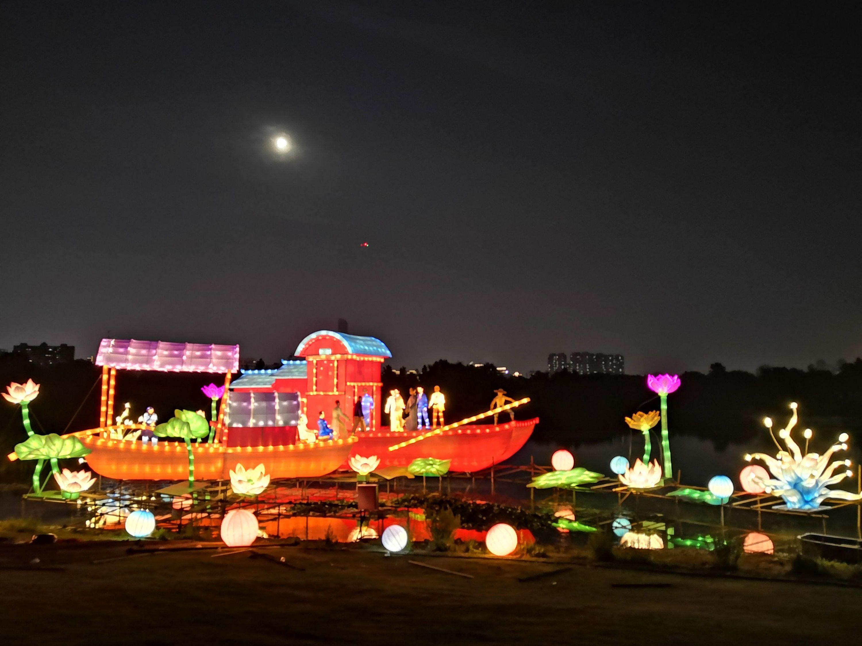 夜游、赏月,9月16日武汉园博园开启中秋夜场