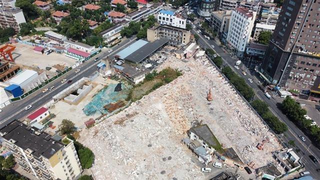 武汉虎泉夜市整体拆除了
