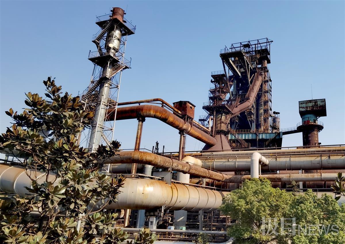 武钢一号高炉将变身工业遗址公园