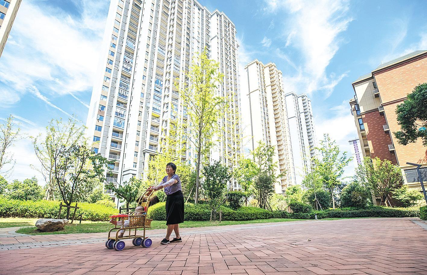 城市更新助老城区居民迁新居
