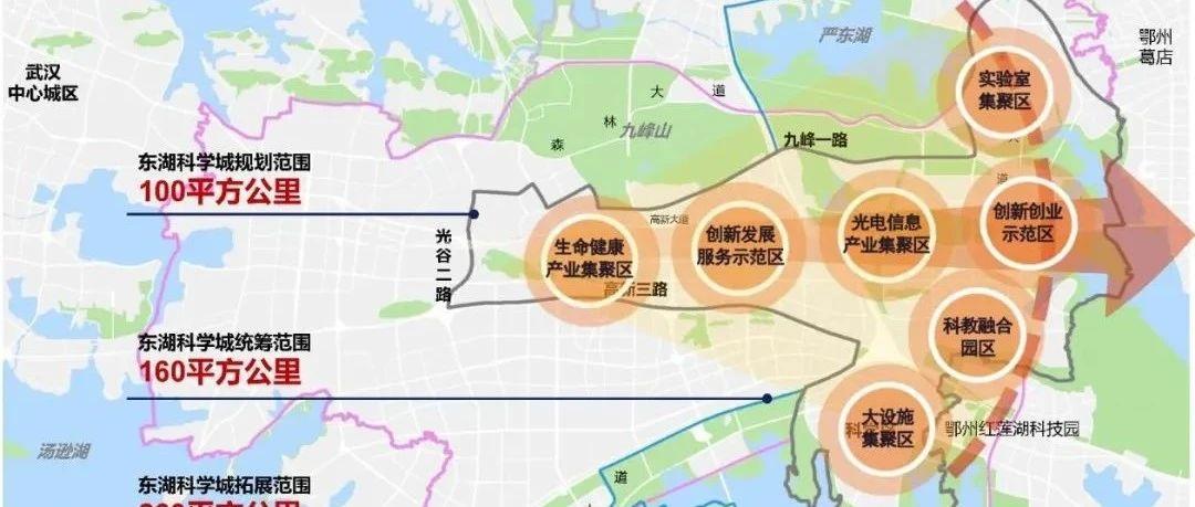 重磅!湖北東湖科學城規劃發布!