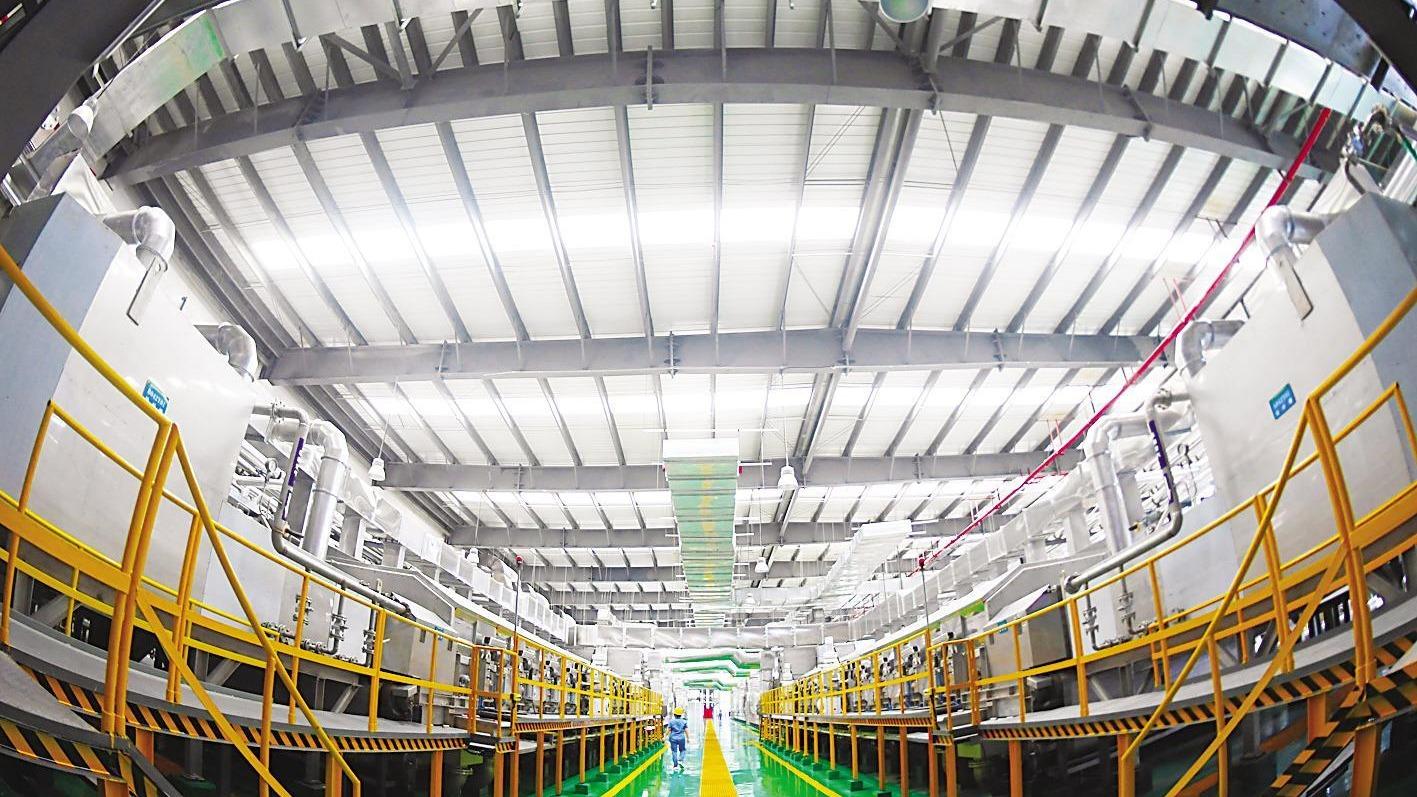 12亿打造bt365官网:省重点绿色纤维项目