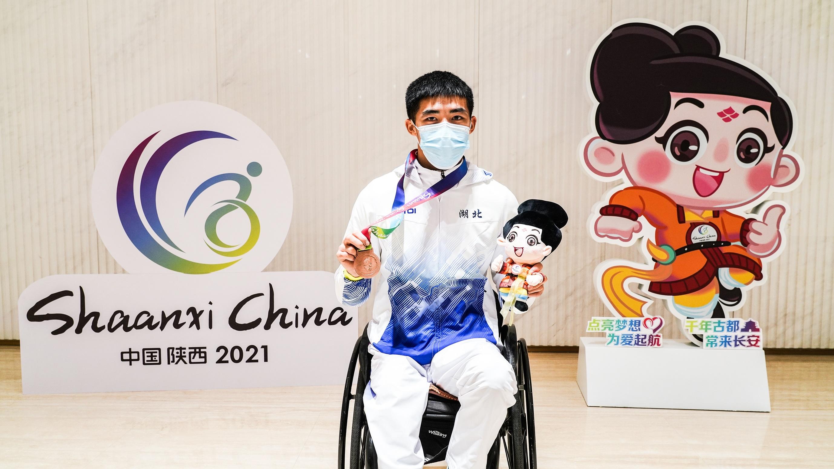 全国残特奥会:大冶小伙章莹获湖北首枚奖牌
