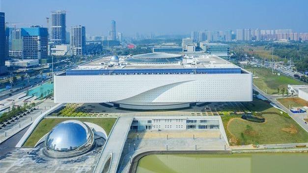 湖北省科技館新館工程主體已完成
