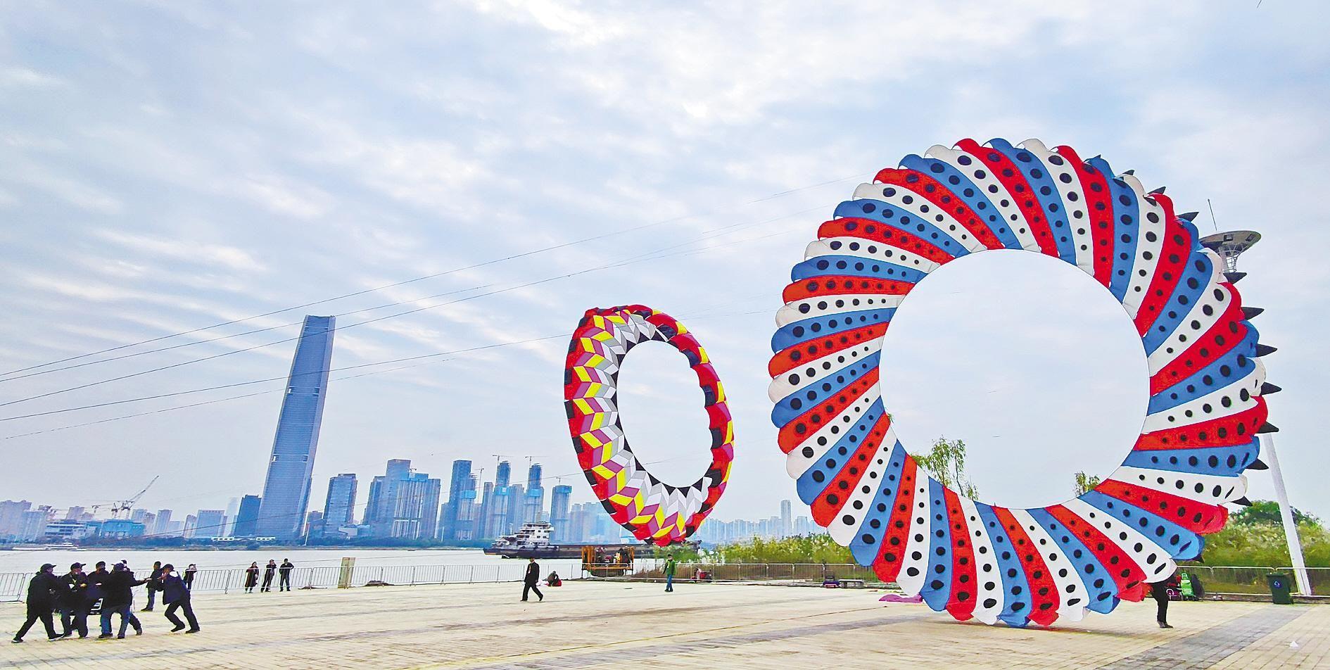 江岸区国际风筝节成文化名片