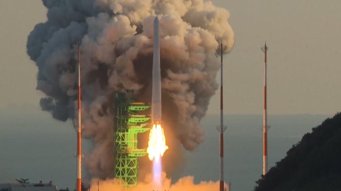 韩国火箭未能将卫星送入预定轨道