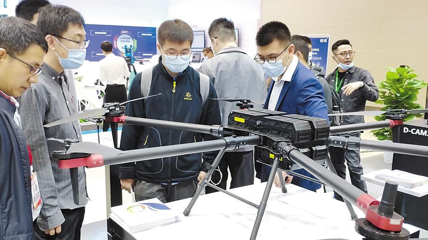 """中国地理信息产业大会:高科技成果""""接地气"""""""