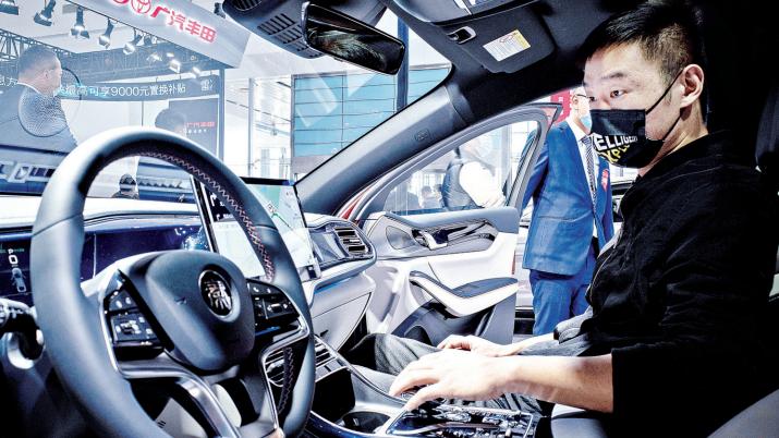 主流新能源车集中亮相威斯尼斯人下载安装国际车展