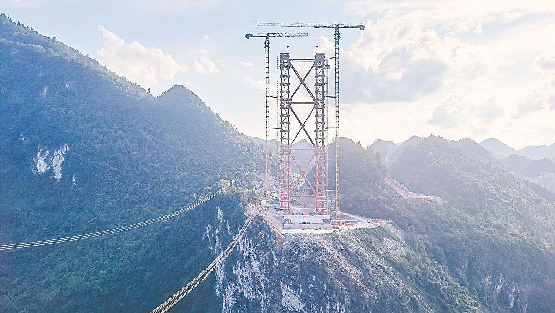 """宜来高速:桥隧比高达78%的""""天路"""""""
