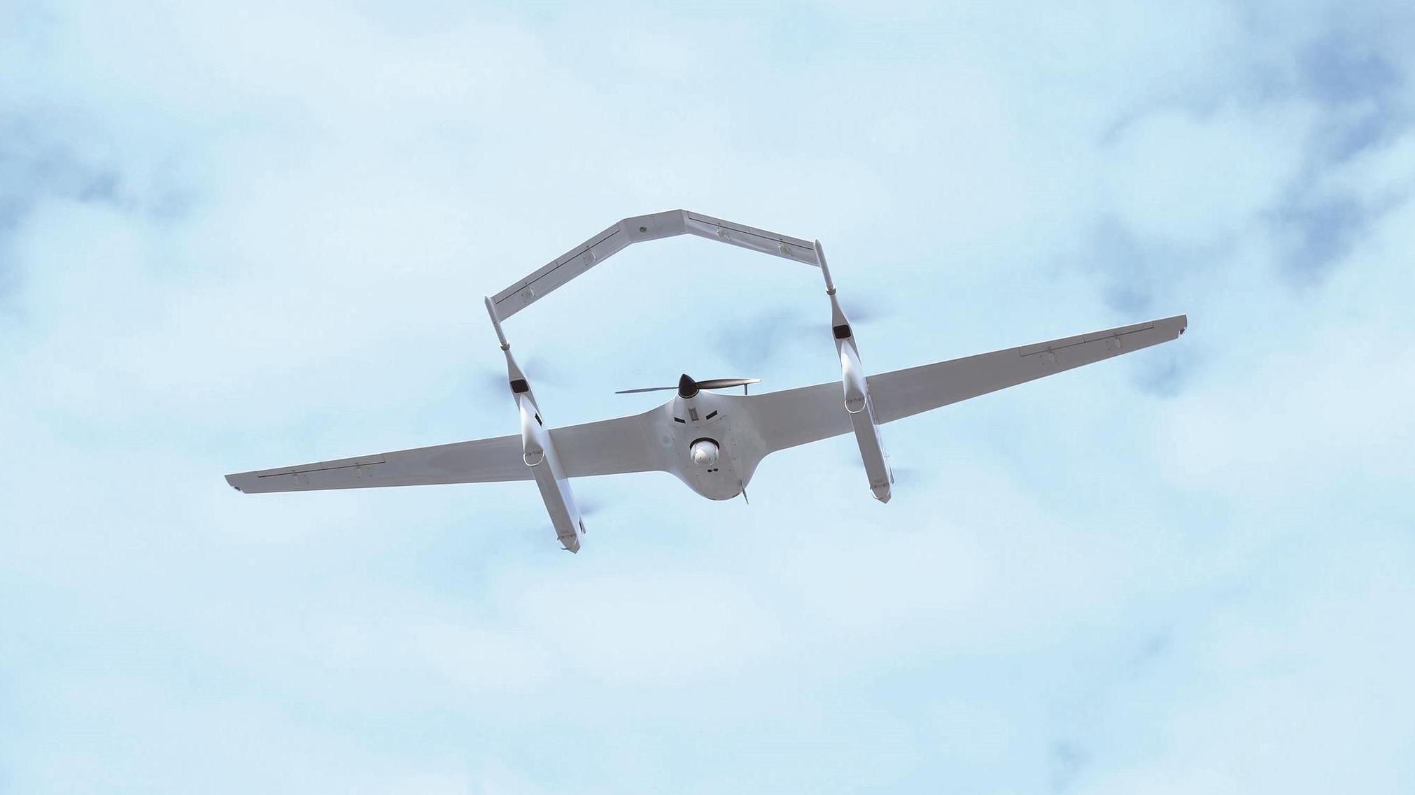 吉利首架汉产无人机下线