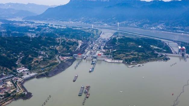 三峡枢纽前三季度通过量破1亿吨
