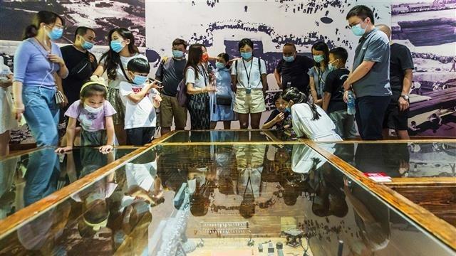 湖北省博物馆游客每天预约达上限