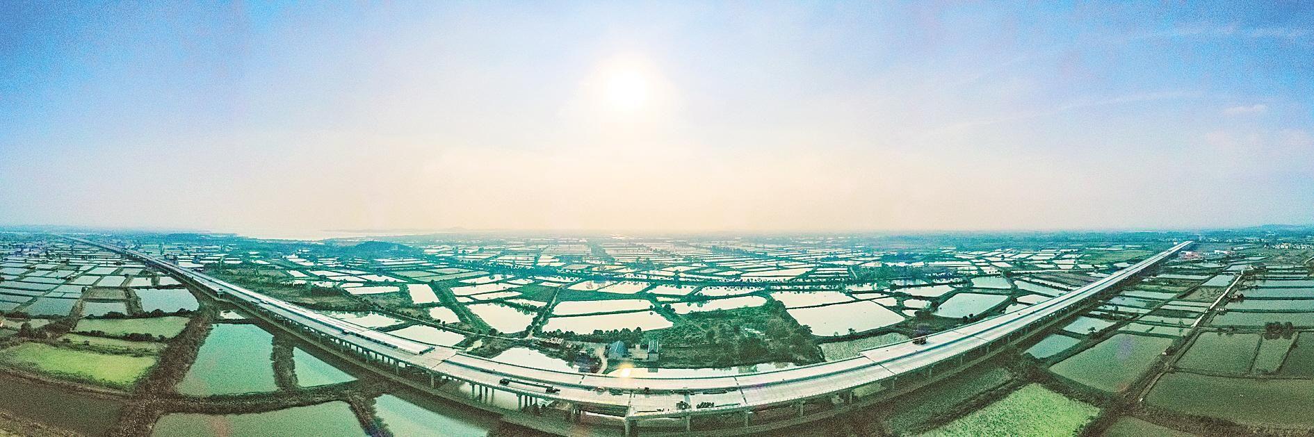 武阳高速第二标段进入冲刺阶段