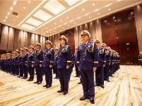 武汉消防救援支队授衔换装