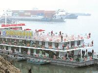 万里长江首个水上服务区在宜昌投用