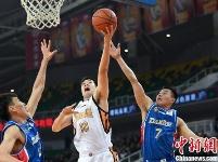 CBA联赛27轮:山西男篮101:109负于天津男篮