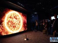 拉斯维加斯消费电子展上的视觉盛宴