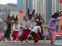 孝感七县市区在应城开展迎新春活动