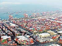 武汉新港年吞吐量突破156万标箱