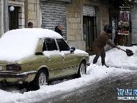 黎巴嫩遭遇极端天气