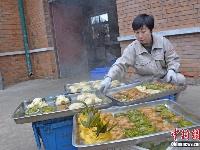 动物吃饺子庆新春