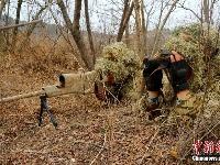海军陆战队某旅组织新年度狙击手集训