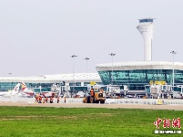 武汉天河机场一跑道大修改造工程启动