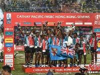 香港国际七人榄球赛决赛 斐济击败法国夺冠