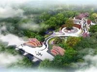 """北京世园会湖北园基本建成,俯瞰全园是一只""""舞凤"""""""